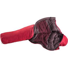 deuter Orbit -5° SL Sleeping Bag Women cranberry/aubergine